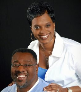 Larry and Charity Harris of Overtyme Bar and Grill